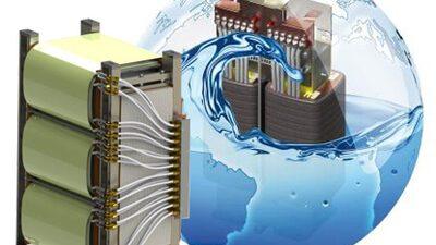 Wassergekühlte Transformatoren<span class='sub-title'>wassergekühlt in Trenntransformator oder Spartransformator - Ausführung  nach IEC/DIN EN61558-2-13 bzw. IEC/DIN EN61558-2-4</span>